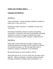 CORPS LAW TUTORIAL - WEEK 6.doc