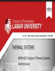 Module I Part 2 Thermal Systems.pptx