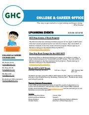 Bulletin 21 pdf - COLLEGE CAREER OFFICE The way to get