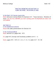 Practice Problems 9.4 - Rotation of Axes.pdf