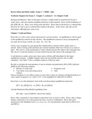 302 Exam 3 Review Sheet