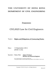 CIVL3025_Law_for_Civil_Engineers_Handout_10_09_2011_Morning