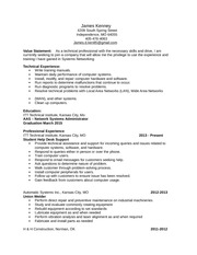 Unit 4 Assignment 1 Resume
