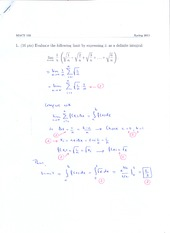 Sample Midterm 1 Solution(1)