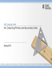 Toolkit 4- Collecting Primary and Secondary Data with Questions - 2013.pdf