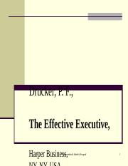 PPT Executive effectiveness.ppt