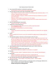 New Testament Exam I Study Guide