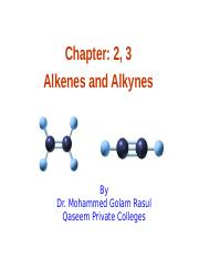 chepter2 3 Alkenes and alkynes (1)--