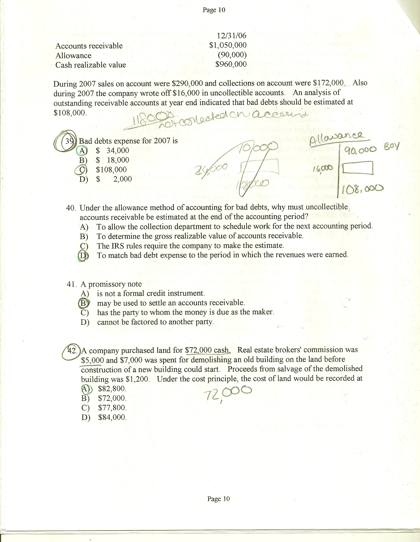 Test 2 Page 10