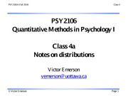 PSY2106 4a F14 (distributions)
