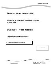 The Economics Of Money Banking And Financial Markets Pdf