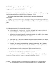 FNCE388 M1 Questions .docx