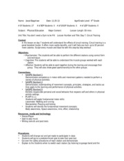 Pe 415 ktip throwing and catching lesson plan ktip for Ktip lesson plan template