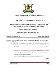 Tct 102instructional Methodspdf South Eastern Kenya University