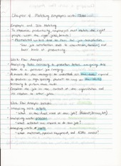 BUS ADM 362 Intro to HR Chapter 4 Lecture Notes on Matching Employees With Jobs