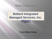 ballard integrated managed services essay