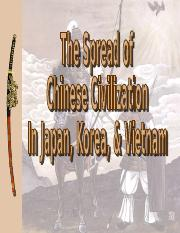 The Spread of Chinese Civilization.ppt