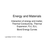 L7 Energy and Materials F10