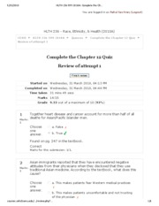 HLTH 236-599 2010A_ Complete the Chapter 12 Quiz