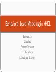 Behavioral Level Modeling.pdf