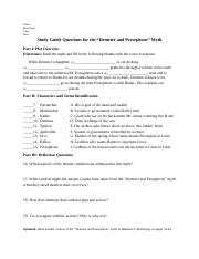 Demeter and Persephone Study Guide Questions.docx