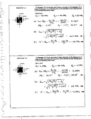 772_Mechanics Homework Mechanics of Materials Solution