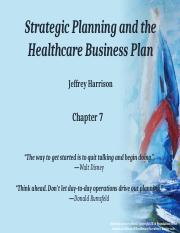 Chapter 7 Healthcare Business Plan.pptx