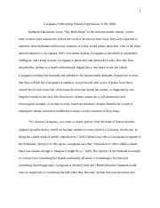 Eng 2253 Essay on Hawthorne