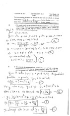 Math 121 Fall 2014 - Midterm Test #1 (solutions)(1)