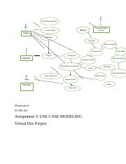 IS390 assignment 3 usecase modeling.docx