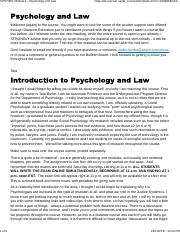 CPSY300, Module 1 - Psychology and Law.pdf