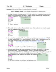 Test8A solutions