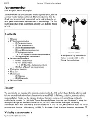Anemometer - Wikipedia, the free encyclopedia