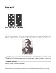 Bolean Algebra Chapter 13.pdf