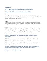 5.5.3 Assignment_ EXAMINING SUCCESS AND FAILURE Case Study.docx