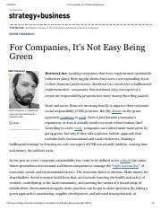 For Companies, It's Not Easy Being Green.pdf