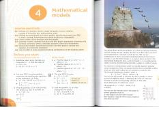 Ch. 4 - Mathematical Models