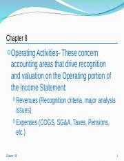 Accounting_Analysis_Operating_Activities_Ch8