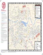 Map Pdf Campus Map 2017 Numerical Listing Numbers May Be Missing