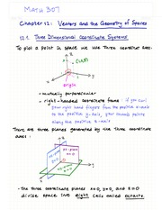 Ch.12- Vectors and the Geometry of Spaces