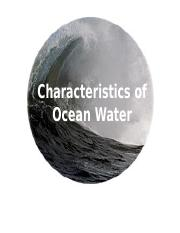 Characteristics of Ocean Water (1).ppt