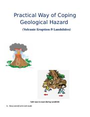 Practical Way of Coping Geological Hazard MADEL.docx