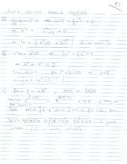 2013 Fall - Math 51 Exam 1 - Solutions