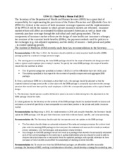 USW 11 Policy Memo Example 1
