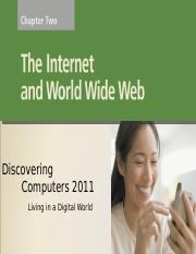 Chapter 02 The internet & WWW.ppt