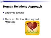 Human Relations Approach-3