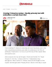 Coming 2 America review _ Hardly princely but still embodies a certain Soul-Glo! – Moviehole.pdf