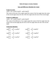 Math 120 chapter3section3 handout