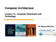 Son-CA_lec1_1_Computer Abstraction and Technology