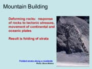 MountainBuilding - Lecture Slides for Exam 3